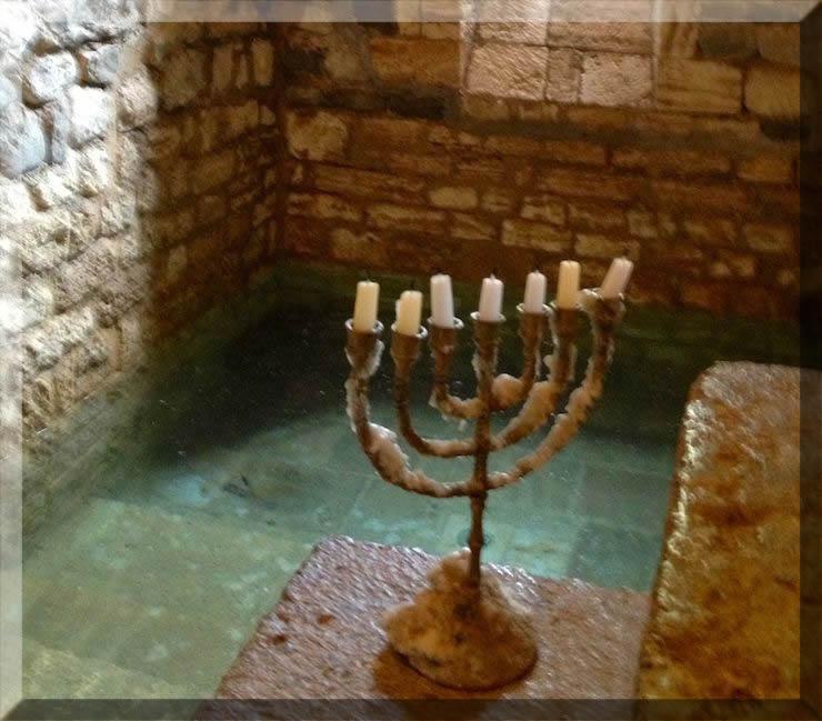 A Jewish mikvah